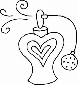 Perfume Bottle Coloring Page