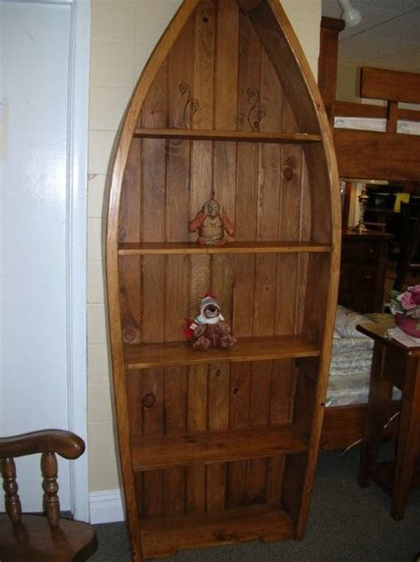 boat shaped shelf unique  creative bookshelf boat
