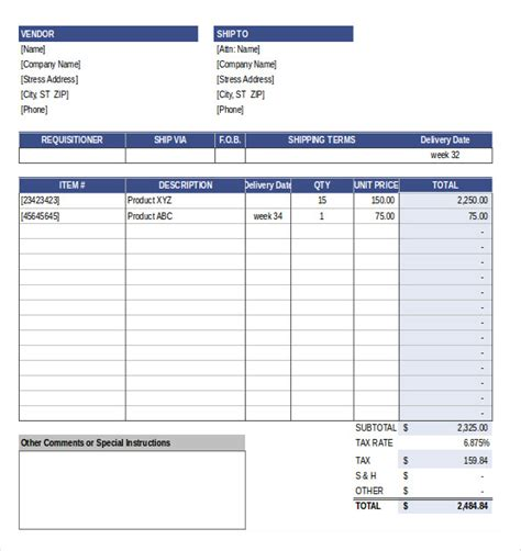 Excel Purchase Order Tracking Template by Purchase Order Tracking Template 28 Images Free Docs