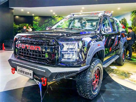 Foton General G9 Debuts At Auto China 2020 - Copy of Ford F150 Raptor