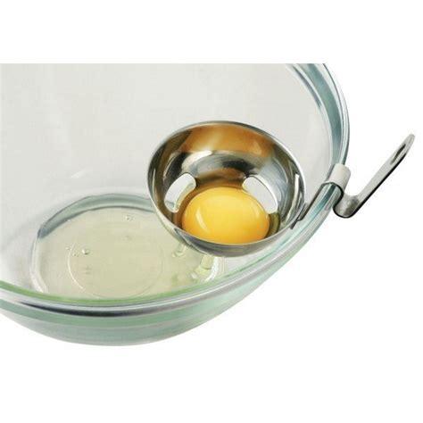 cuisine jaune d oeuf séparateur jaune d 39 oeuf coudé inox maspatule com