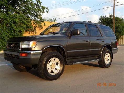 best car repair manuals 2001 toyota 4runner user handbook buy used 1997 toyota 4runner limited 4x4 manual 5speed 1owner leather drives excellent in dallas