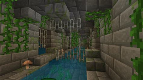 time making  sewer minecraft