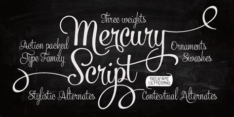 fontspring mercury script fonts  fenotype