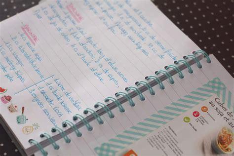 cahier de cuisine vierge cahier de recette de cuisine