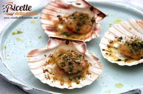 Cucinare Le Capesante by Capesante Gratinate Ricette Della Nonna