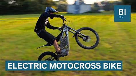 motocross bike  powerful  completely electric youtube