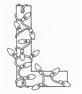 Capital Letter L For Light Coloring Page Preschool Crafts