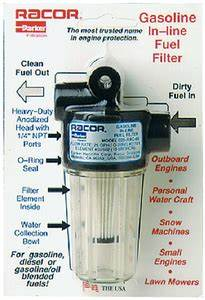 Racor 025rac02 Spin On Fuel Filter  Water Separator