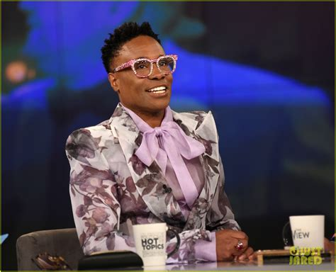 Billy Porter Wants Open Conversations With His Red