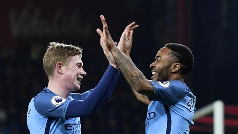 De Bruyne, Sterling return to Manchester City training