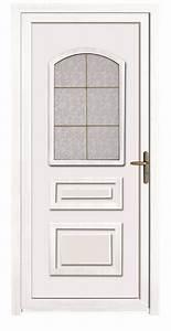 porte d39entree en pvc pour maison individuelle ou immeuble With credit impot porte d entrée