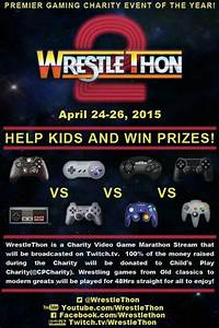 Don't Forget! WrestleThon 2 Starts This Weekend... - WCW ...