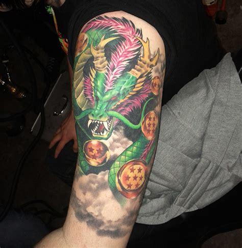 dragon ball tattoos shenron  dao  dragon ball
