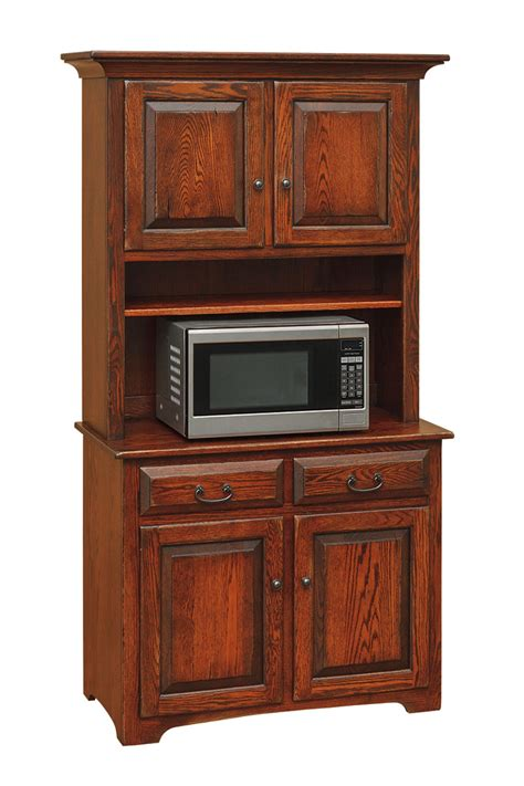 microwave hutch amish furniture connections amish