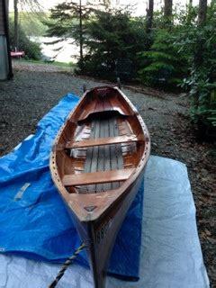 beautiful  rangeley  guide boat