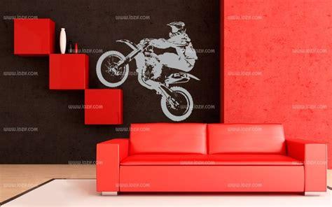 chambre moto décoration chambre moto cross
