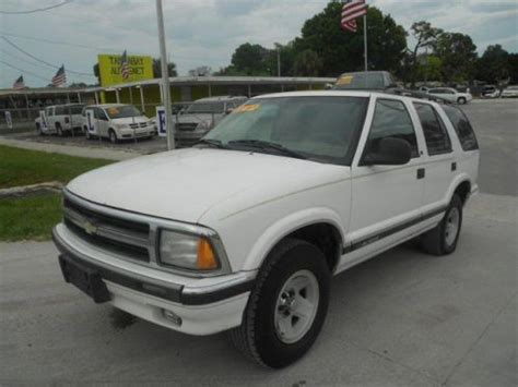 Used Cars New Richey Fl by Buy Used 1995 Chevrolet Blazer Base In 7028 Us Hwy 19 New