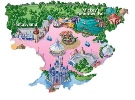 cartoon map  disney mappery