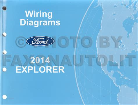 Ford Festiva Wiring Diagram Pdf by 2014 Ford Explorer Wiring Diagram Manual Original
