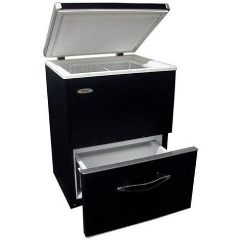 ge energy chest freezer haier 3 9 acces plus dual zone chest freezer black home