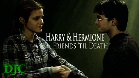harry hermione friends til death youtube