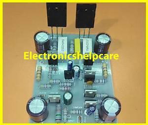 Diagrama De Circuito Do Transistor De 2sa1943 E 2sc5200 100w