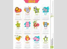 Creative Yearly 2016 Calendar For New Year Celebration