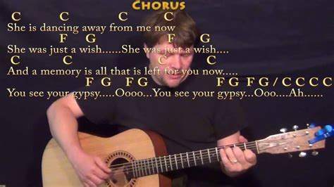 Gypsy (fleetwood Mac) Fingerstyle Guitar Cover Lesson In C