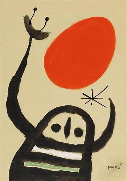 Joan Miro Composition Miro Kompozisyon Juan Giphy