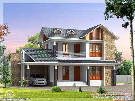 Small House Exterior Design Beautiful Villa House Designs