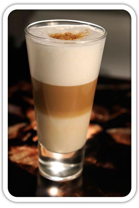latte macchiato  layered coffee recipegreatcom