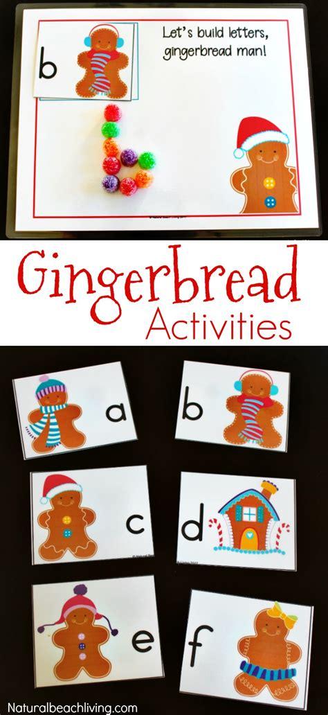the best kindergarten and preschool gingerbread theme 456 | gingerbread preschool activities pin1