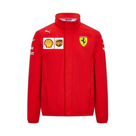 The official scuderia ferrari softshell jacket. Scuderia Ferrari 2020 Team Softshell Jacket