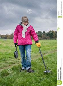 Metal Detecting editorial stock photo. Image of adventure ...