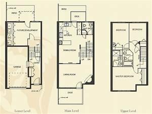 4 bedroom apartment floor plans townhome building floor With 4 bedroom flat plan design