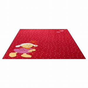 tapis enfant schnuggi sigikid rouge 200x290 With tapis enfant rouge