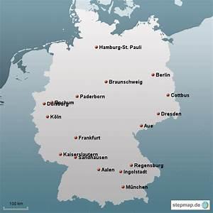 Schönsten Städte Deutschland : die sch nsten st dte 2012 2013 von benderboy landkarte f r deutschland alle bundesl nder ~ Frokenaadalensverden.com Haus und Dekorationen