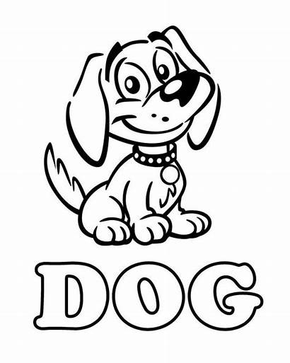 Coloring Dog Pages Printable Popular