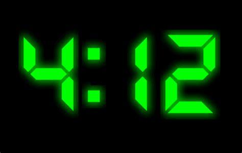 digital clock screen saver zmiana wygladu windows