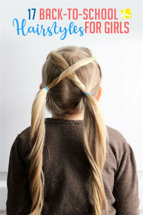 17 Fun & Easy Back to School Hairstyles for Girls The