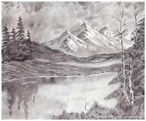 Mountain+Landscape+by+yib91.deviantart.com+on+@deviantART ...