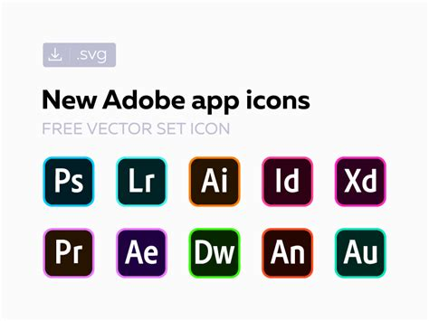 Is there a good tool for this? Free new Adobe СС icons by Alexander Litvinenko on Dribbble