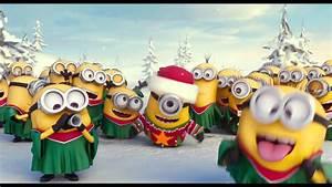 Minions Merry Xmas & Happy New Year - YouTube