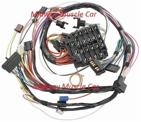 67 Gto Wiring Harnes by Dash Wiring Harness 69 Pontiac Gto Lemans Tempest Judge