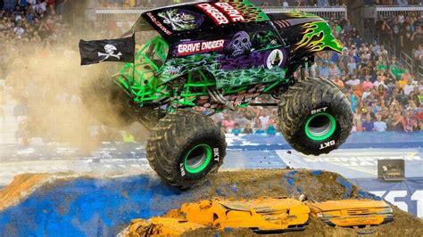 monster truck show boston female drives grave digger monster truck at golden 1 show