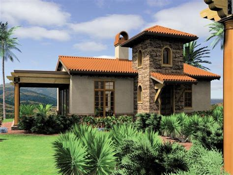 Small Mediterranean Style House Plans Small Mediterranean