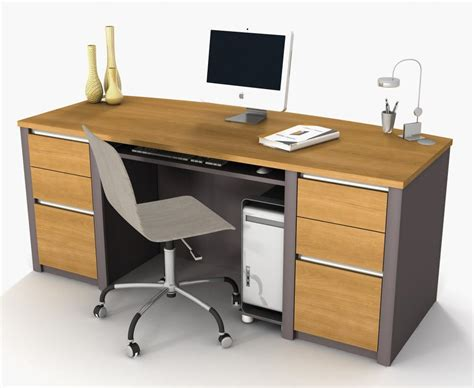 Office Desk Equipment by The Four Ways To Configure A Desk What S Best Next