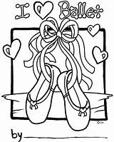 Coloring Pages Shark Clark Ballet Sheets Dance Template Colouring Number Embroidery Personalization sketch template