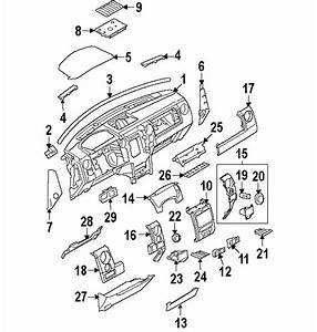 Ford 9l3z1504338db Genuine Oem Side Panel
